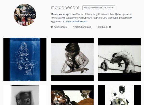 molodoe.com on social media